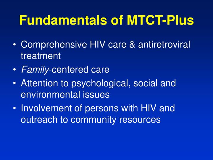 Fundamentals of MTCT-Plus