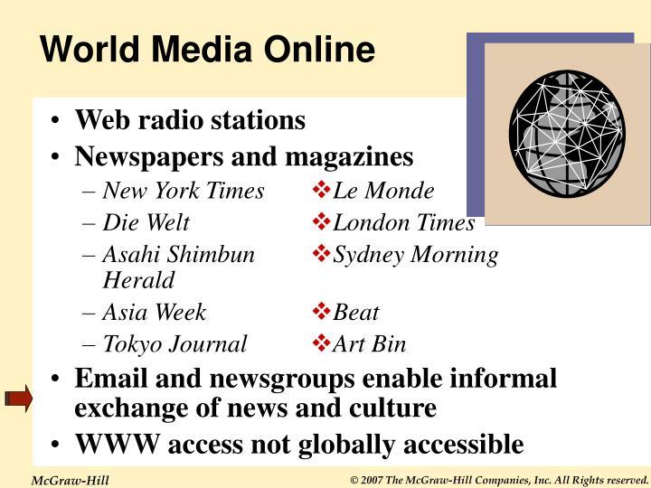 World Media Online