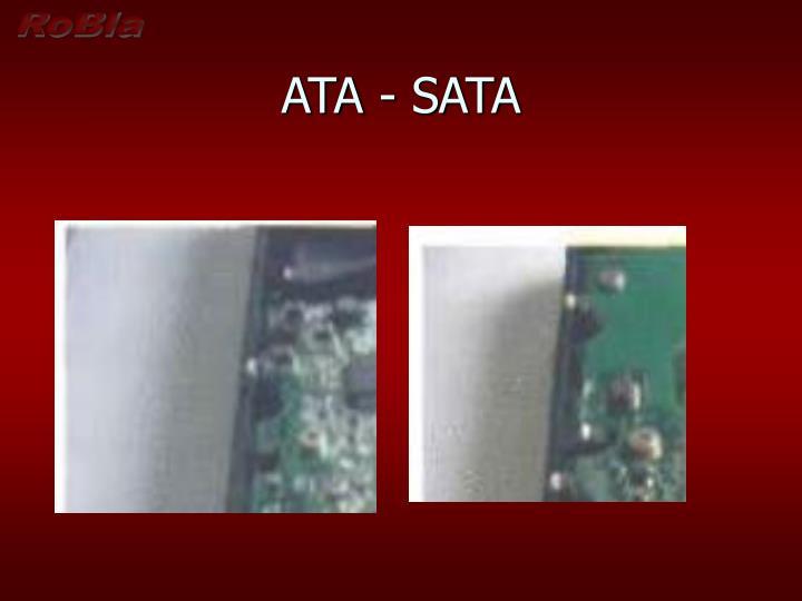 ATA - SATA