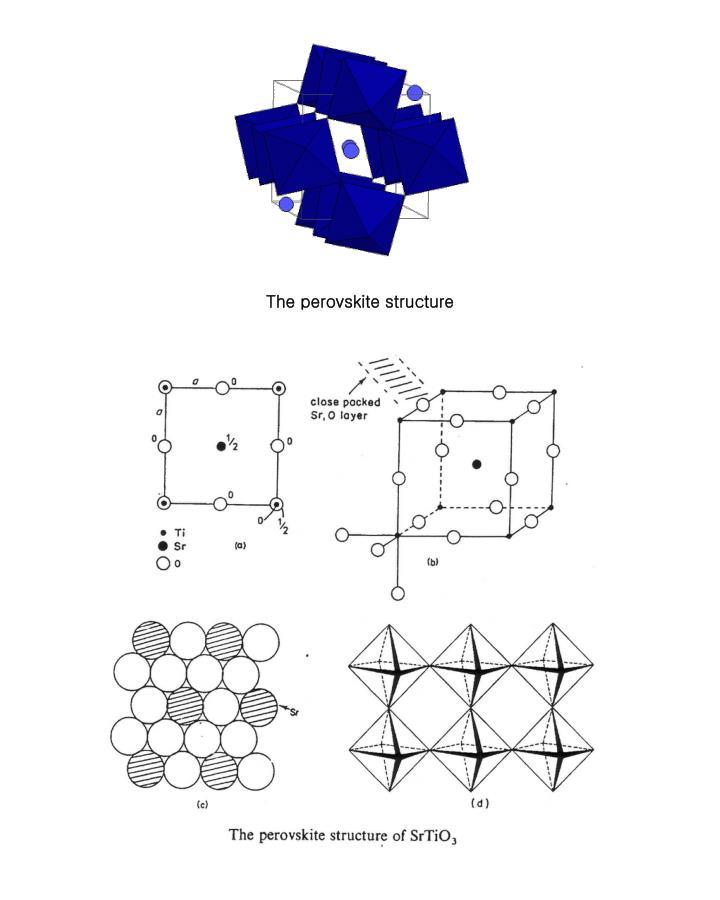 The perovskite structure