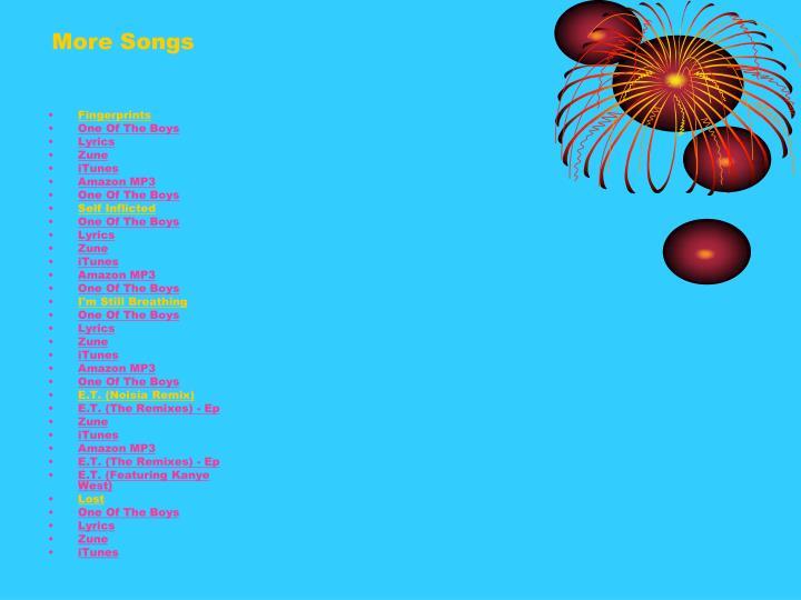 More Songs