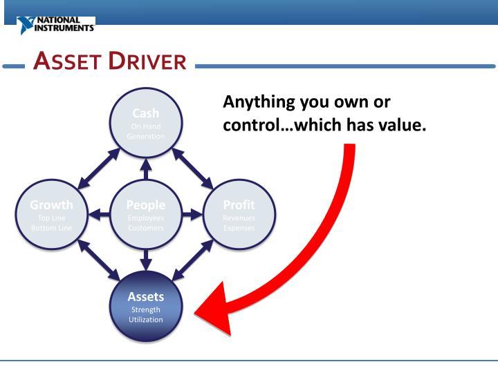Asset Driver