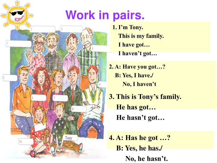 Work in pairs.