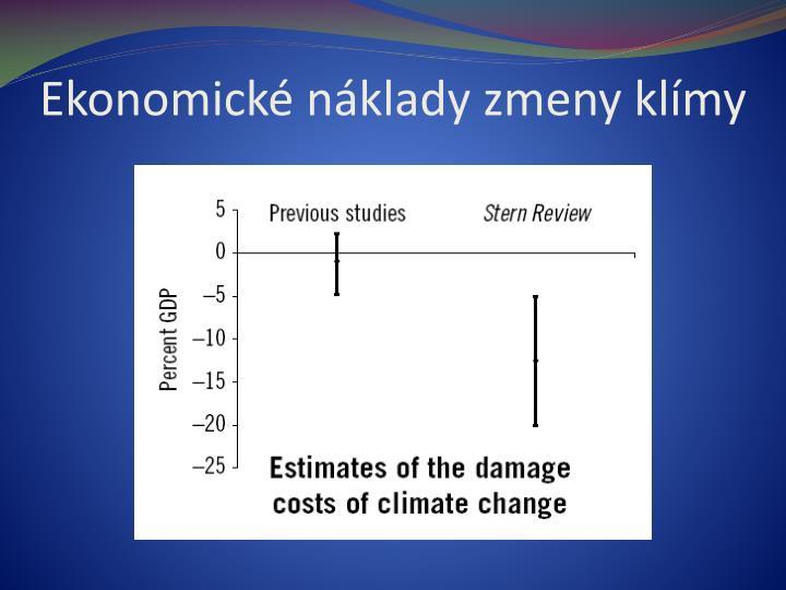 Ekonomické náklady zmeny klímy
