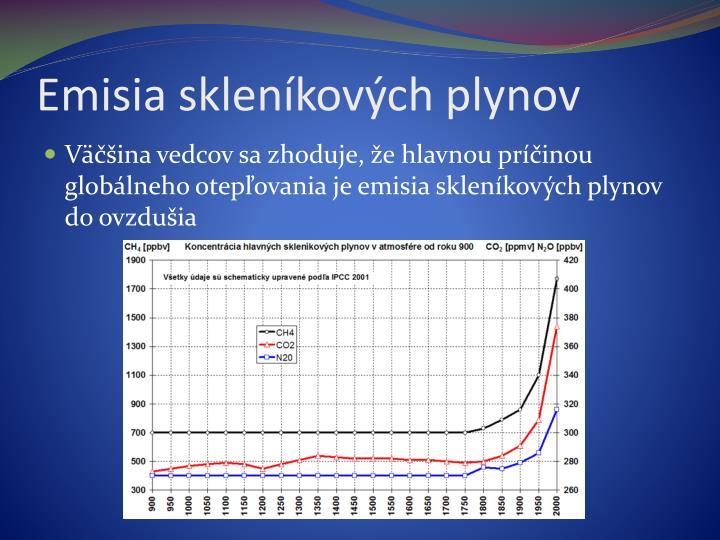 Emisia skleníkových plynov