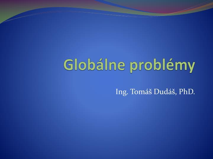 Globálne problémy