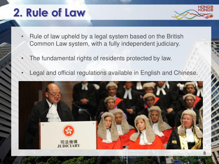 2. Rule of Law