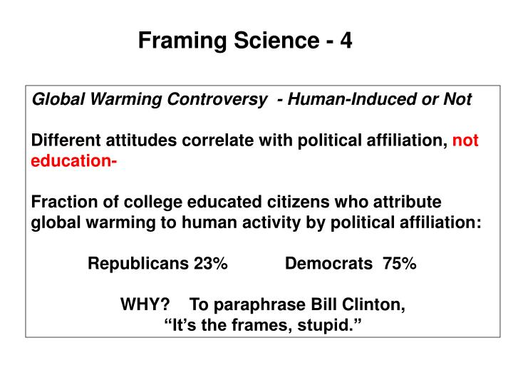 Framing Science - 4