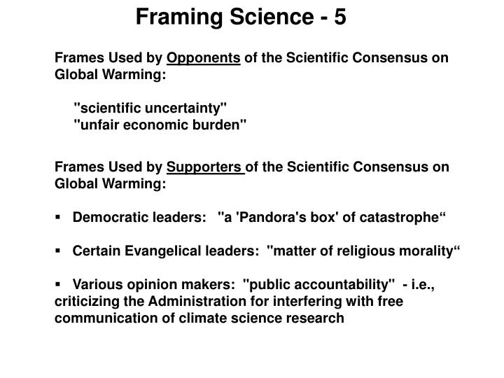 Framing Science - 5