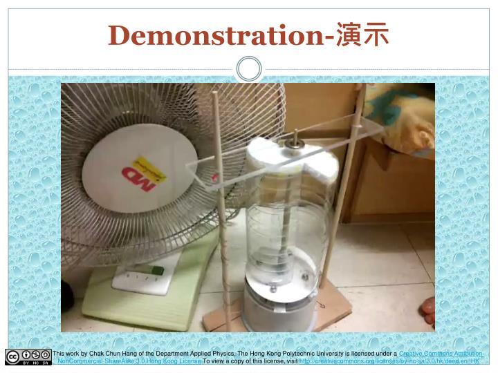 Demonstration-