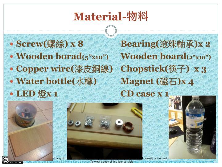 Material-