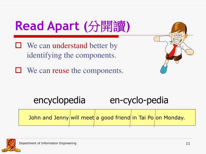 Read Apart (
