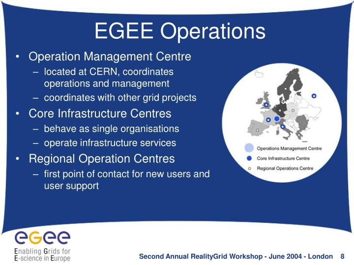 EGEE Operations