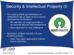 security intellectual property i