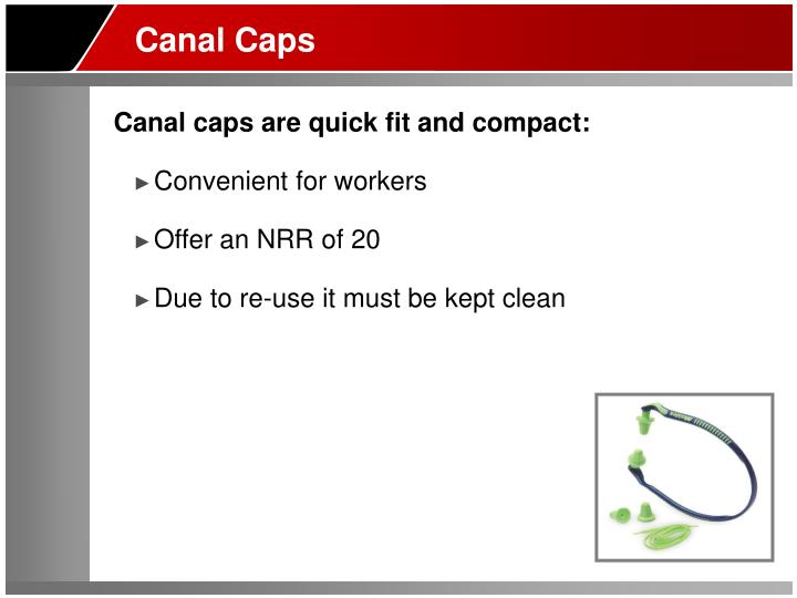 Canal Caps