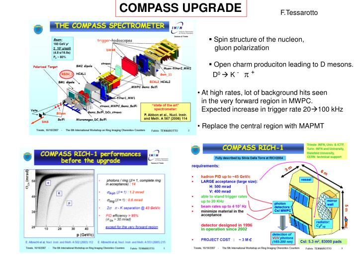 COMPASS UPGRADE