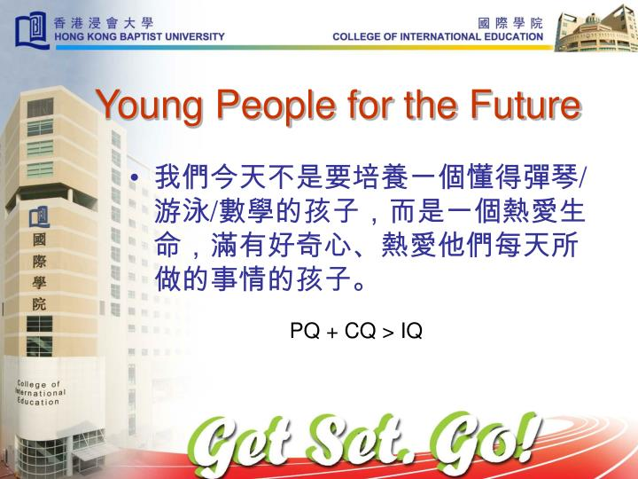 Young People for the Future
