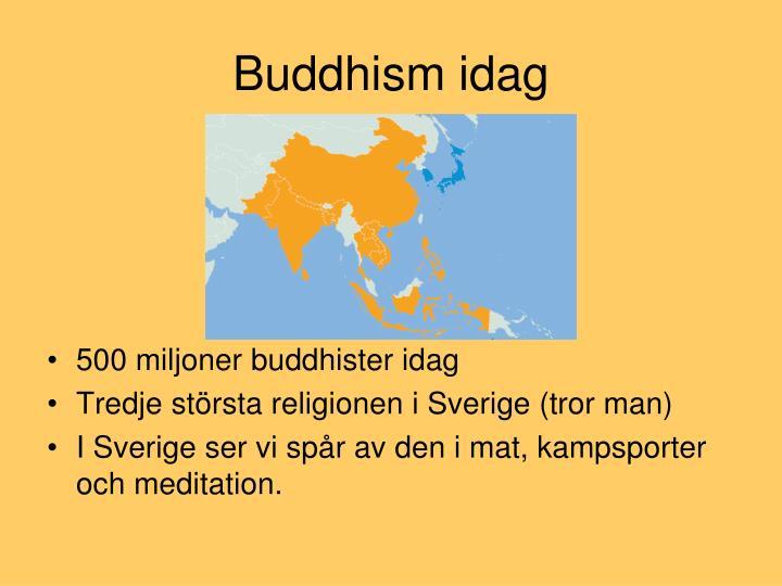 Buddhism idag