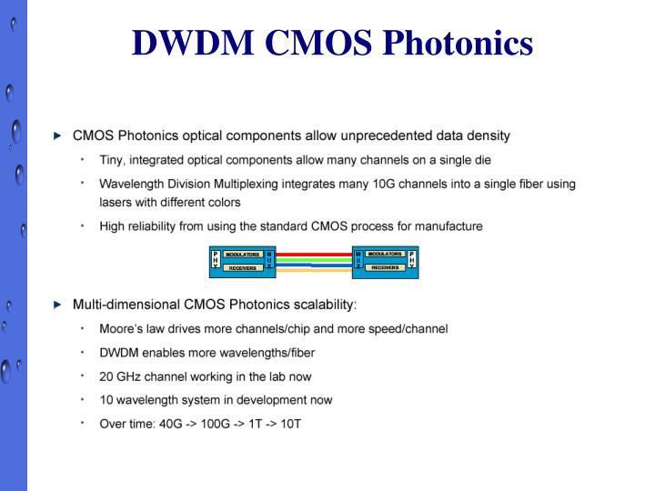 DWDM CMOS Photonics