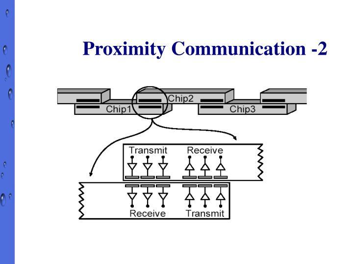 Proximity Communication -2