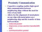 proximity communication