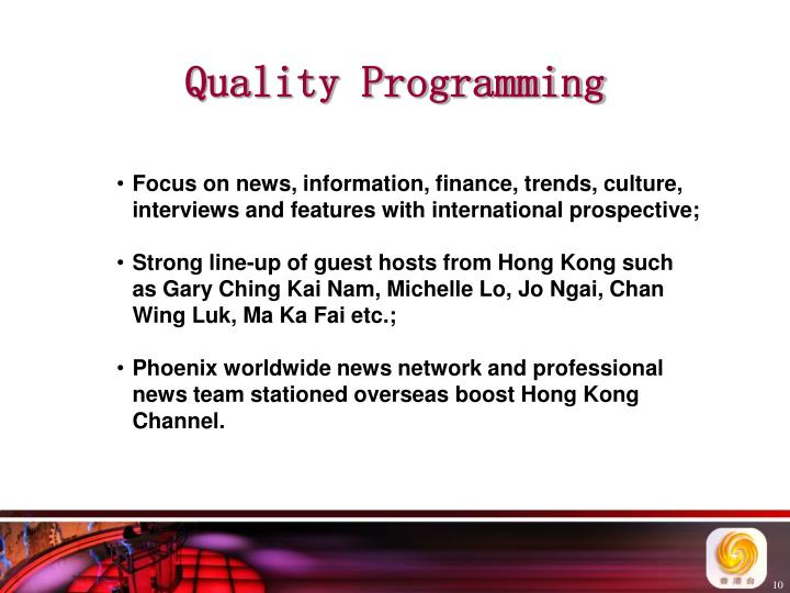 Quality Programming