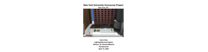 New York University Concourse Project