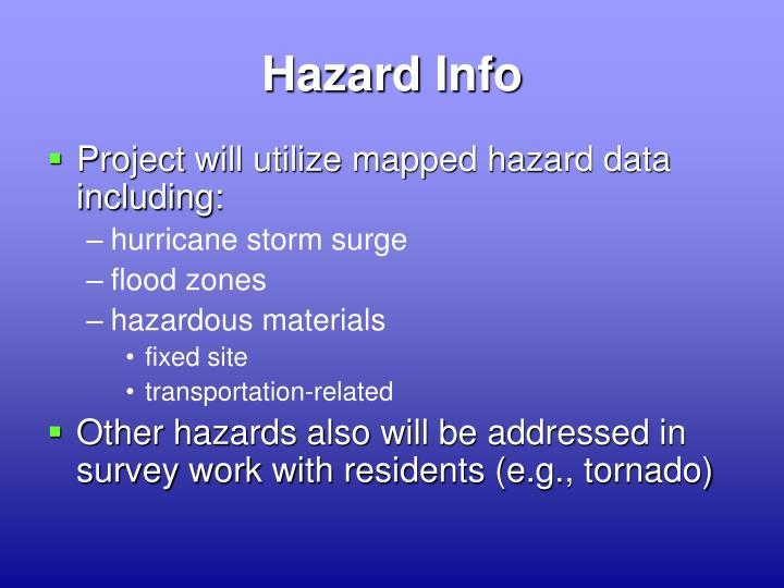 Hazard Info