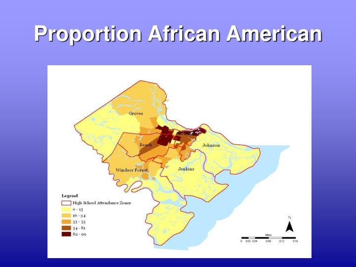 Proportion African American