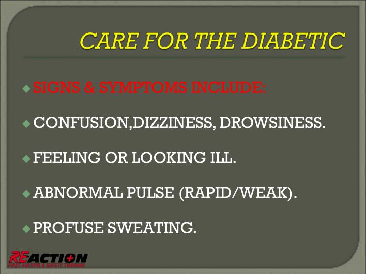 SIGNS & SYMPTOMS INCLUDE: