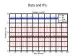 data and ifs