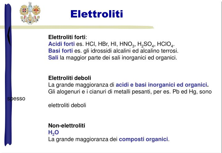 Elettroliti