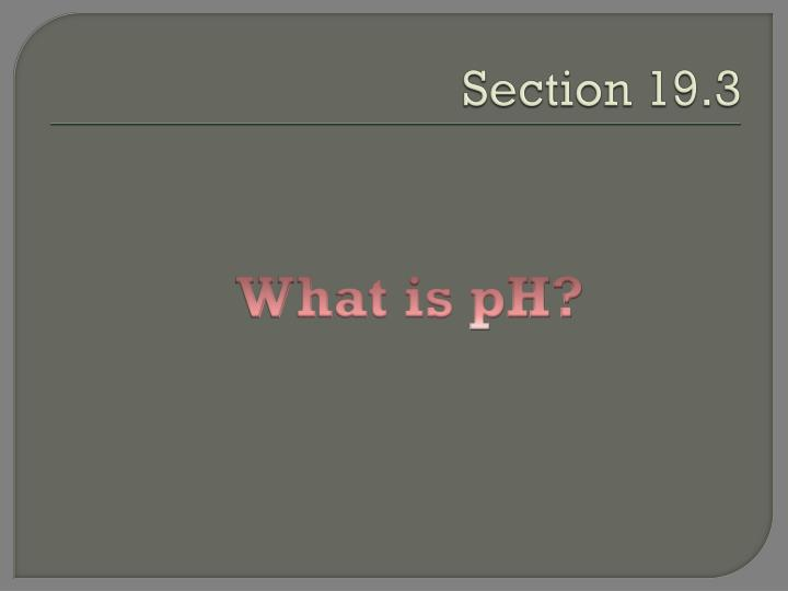 Section 19.3