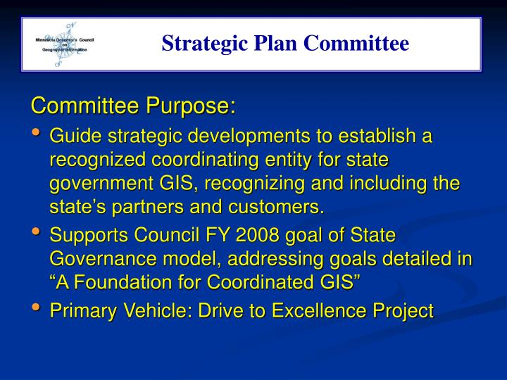 Strategic Plan Committee