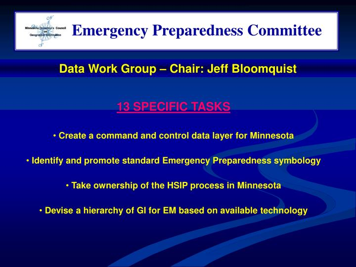 Emergency Preparedness Committee