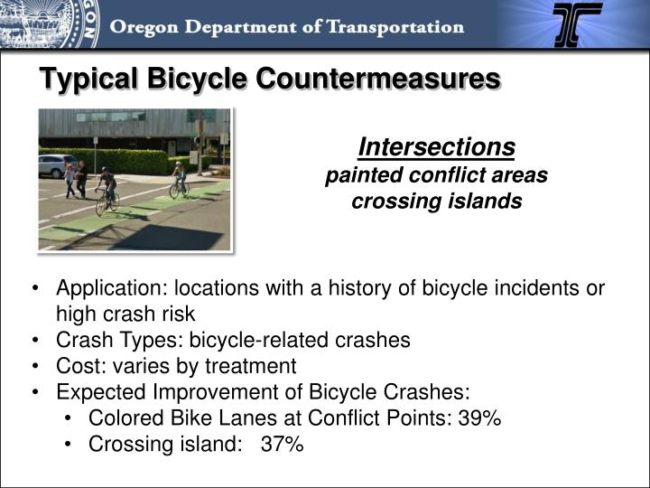Typical Bicycle Countermeasures