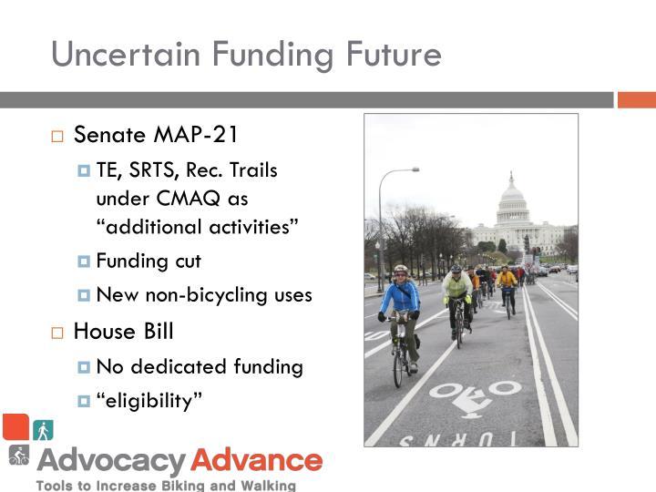 Uncertain Funding Future