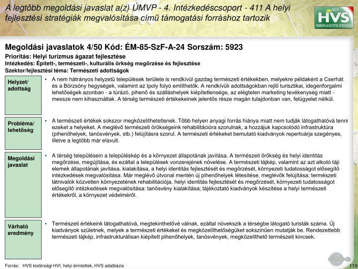 Megoldási javaslatok 4/50 Kód: ÉM-85-SzF-A-24 Sorszám: 5923