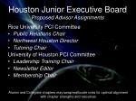 houston junior executive board proposed advisor assignments1