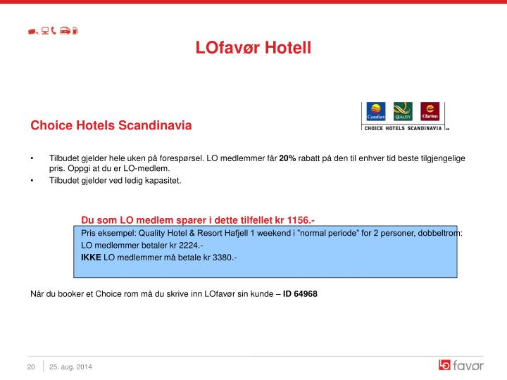 LOfavør Hotell
