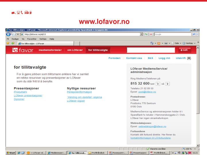 www.lofavor.no