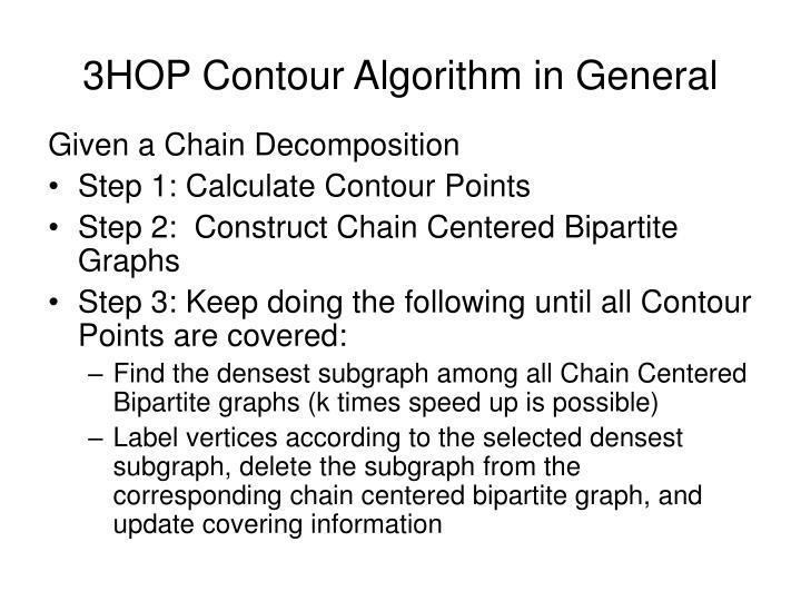 3HOP Contour Algorithm in General