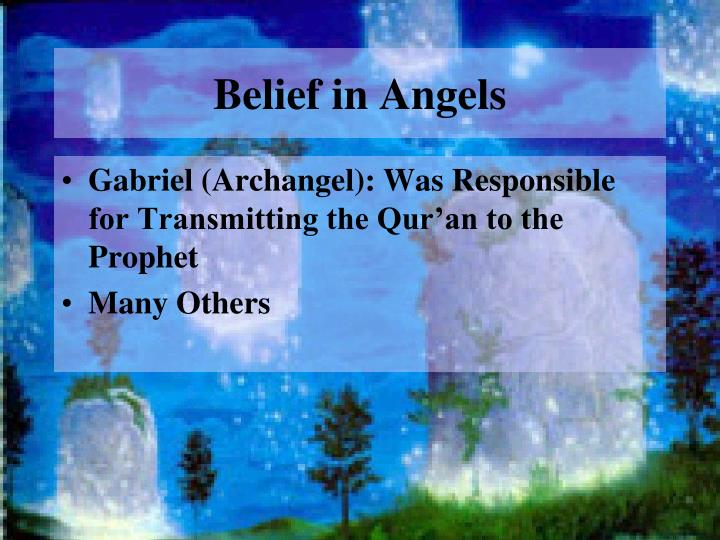 Belief in Angels