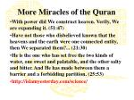 more miracles of the quran