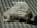 salat prayer