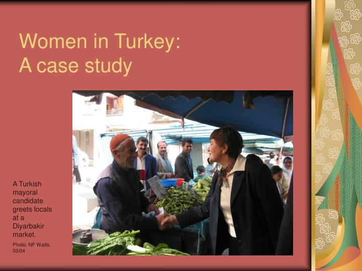 Women in Turkey: