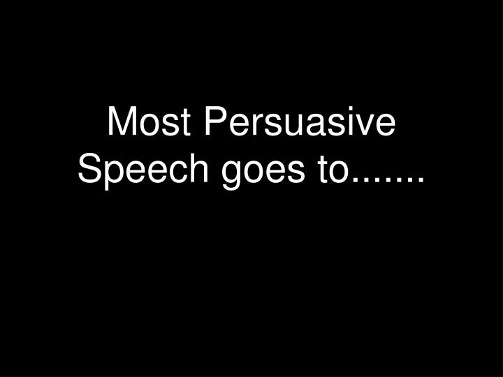 good persuasive speeches in movies