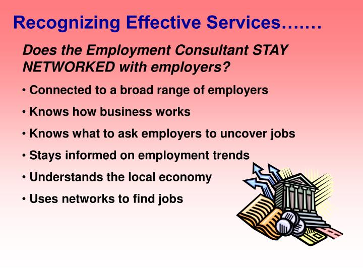 Recognizing Effective Services….…
