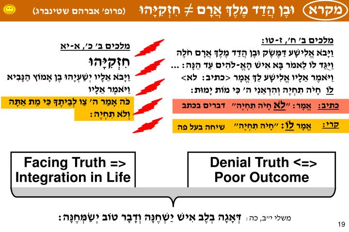 Psychology of Truth Telling