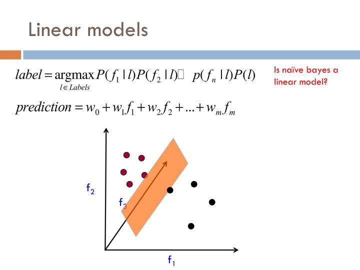 Linear models